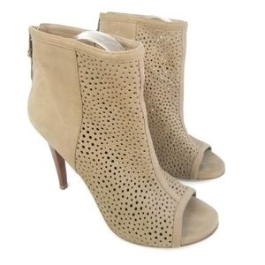 Stuart Weitzman Inandout Suede Leather Ankle Boot